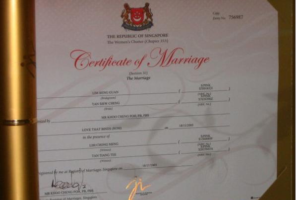 新加坡男子变性婚姻被作废 同性伴侣要求法院复婚