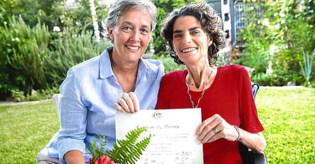 澳首宗同性婚姻:伴侣患癌症 特准提前婚期